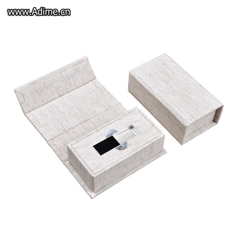 Linen USB Gift Box Wedding
