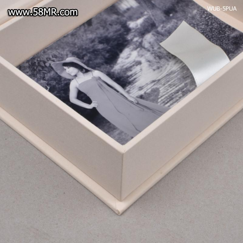 Photo Packaging Box with USB Slot