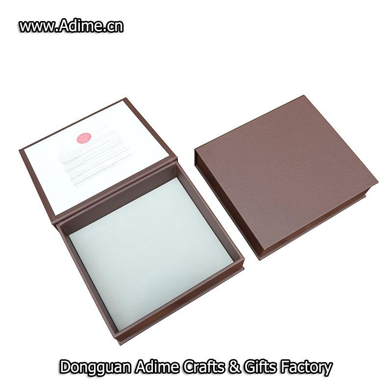 Leather Album Packing Box - copy