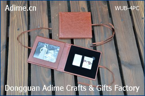 Leather Card USB Case