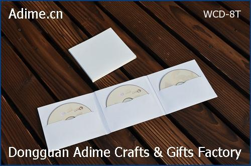 Kraft CD DVD Sleeves