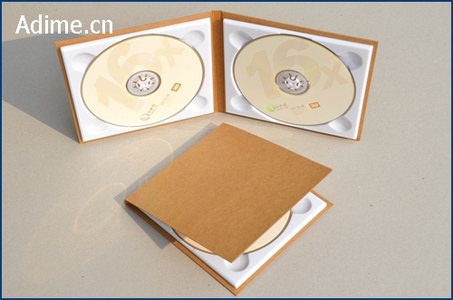 Kraft Double CD DVD Case