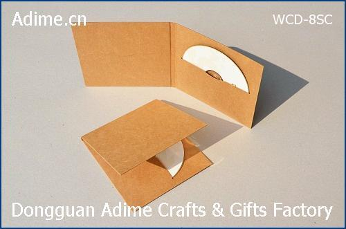 Kraft Single DVD Sleeve