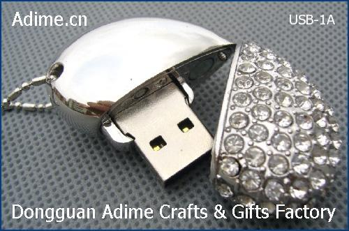 Heart Shape USB Flash Drive