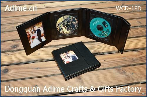 Leather CD DVD Case