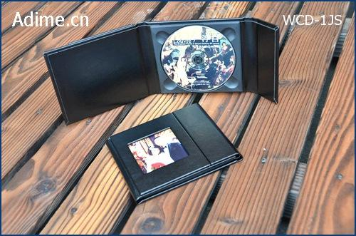 Leather CD DVD Gift Case