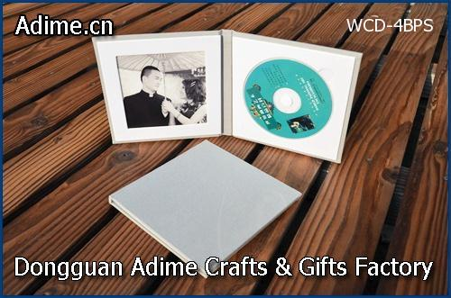 Fabric Cardboard CD Case