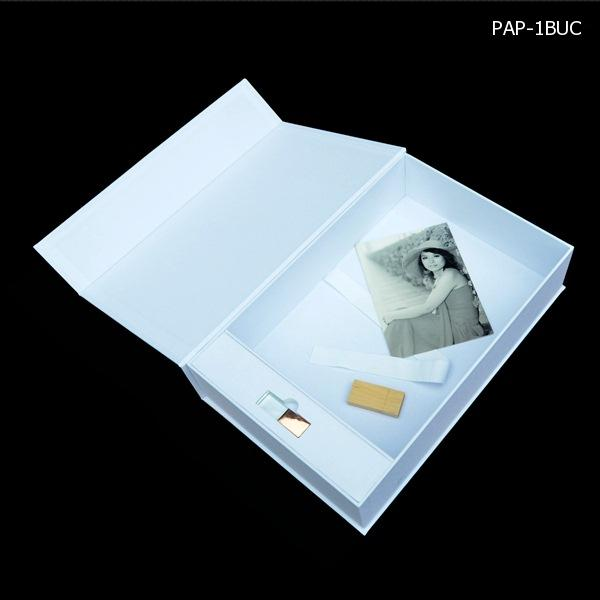 Cloth Photo Album USB Box