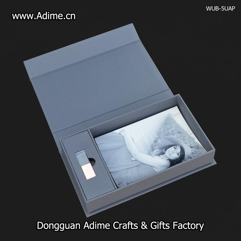 Cloth Photo USB Gift Box