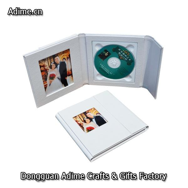 Wedding DVD Case Leather