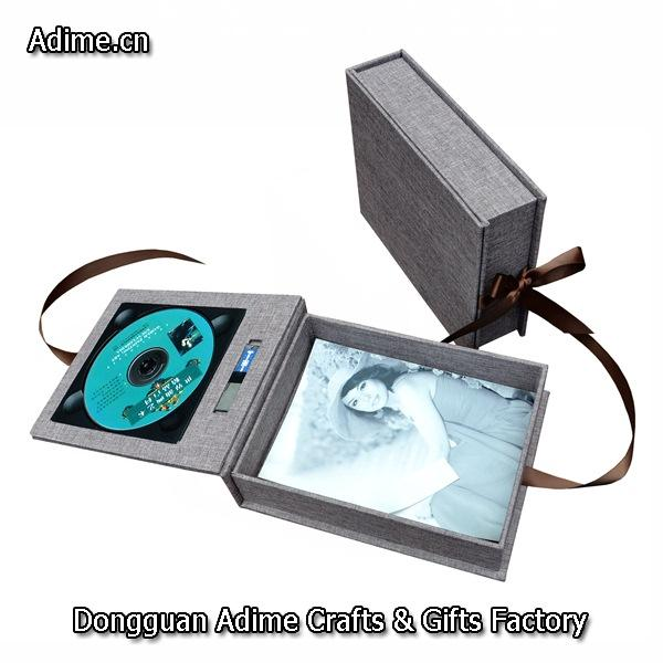 DVD USB Photo Box