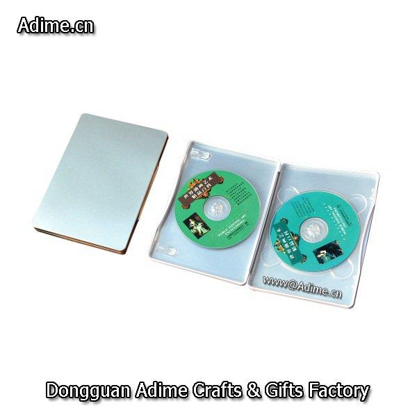 Double Metal CD DVD Tin