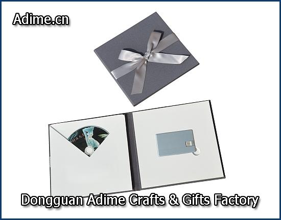 DVD Holder with Card Shape USB Holder