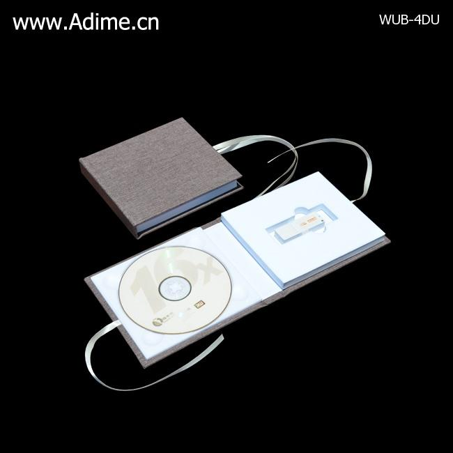 Linen DVD USB Case