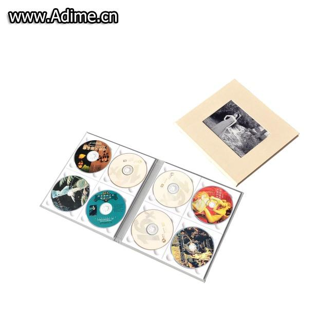 Linen Multiple CD DVD Folio