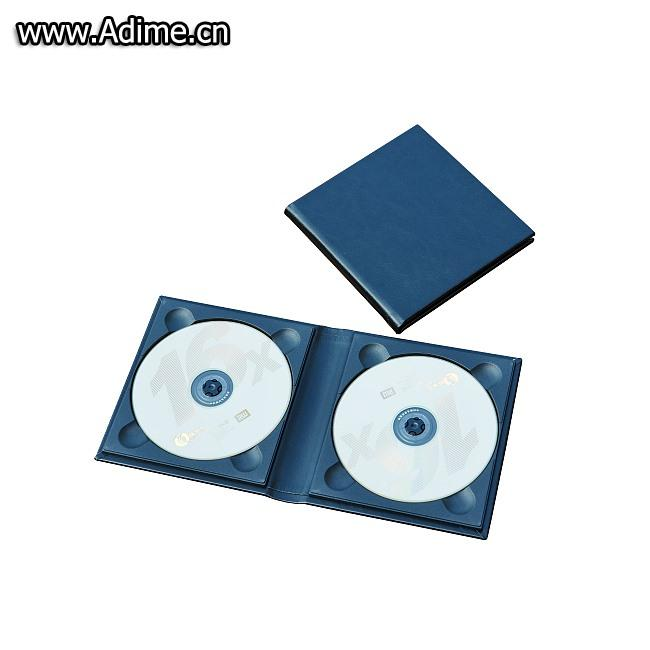 Double Leather CD DVD Holder