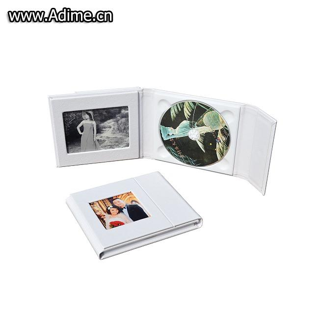 Leather CD DVD Disc Gift Box