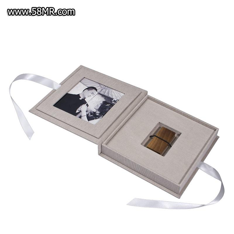 Fabric Photo USB Stick Box