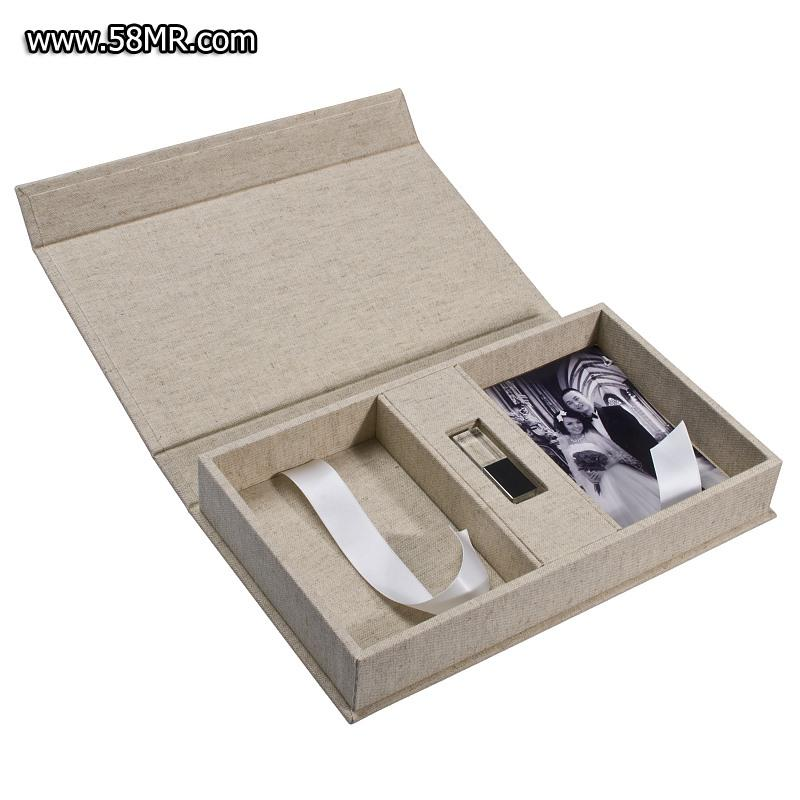 Double Photo Box with USB Slot