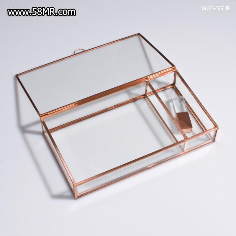 Glass Photo Packaging Box with USB Box