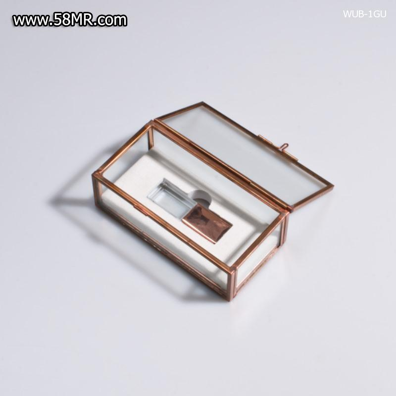 Glass USB Stick Box
