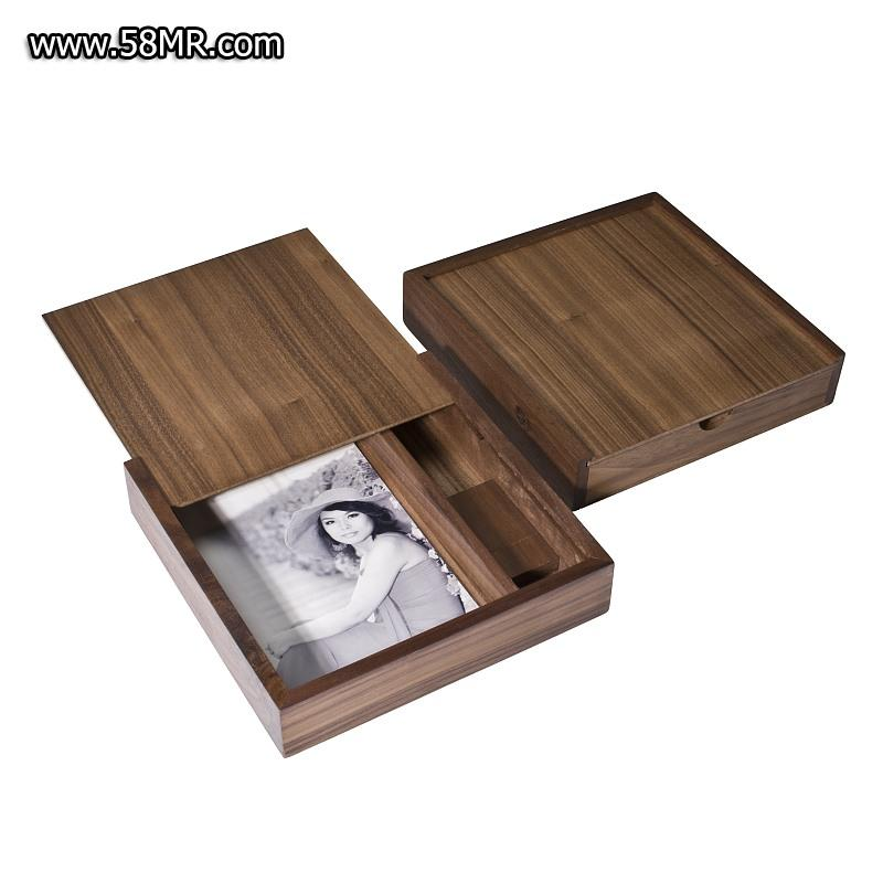 Walnut Photo USB Packaging Box