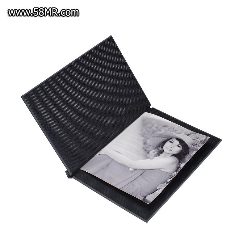 Leather Portrait Clamp Photo Box