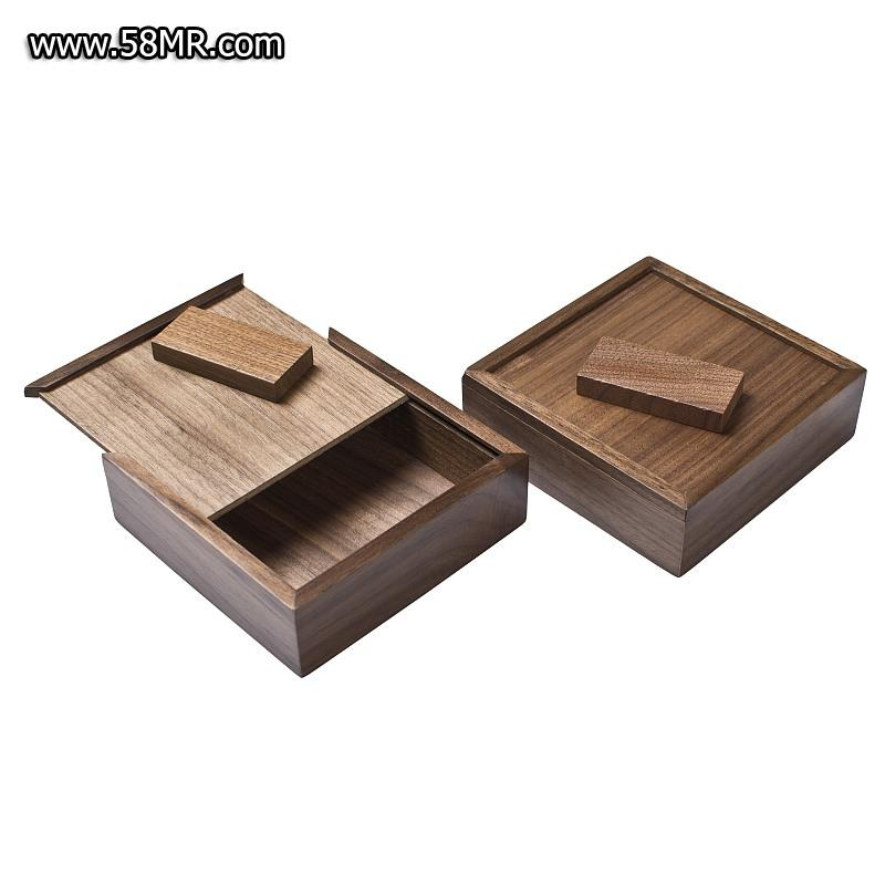 Walnut USB Packaging Box