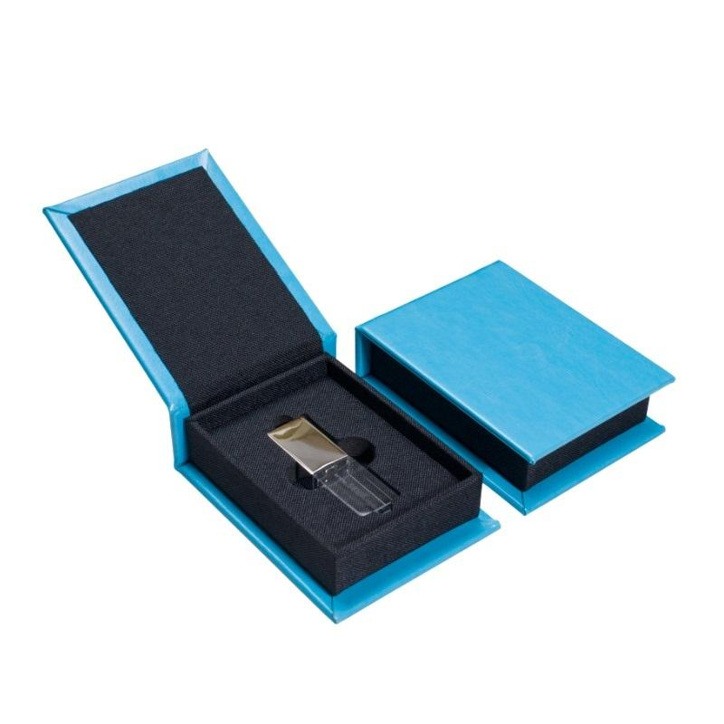 Leather Linen USB Box